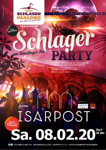 Schlager Party Isarpost