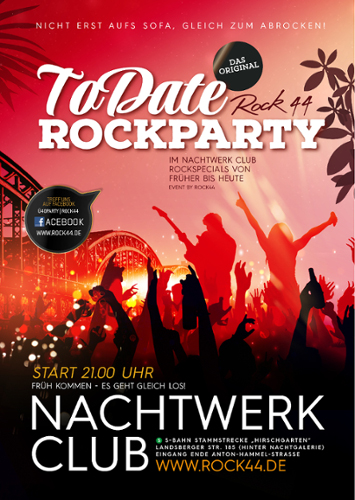 Rock ToDate im Club